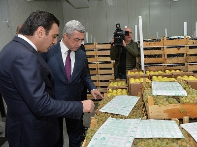 Armenian fruit may appear in Eastern European supermarkets