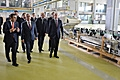 President visits Yerevan-based Spayka LLC and a number of enterprises in Ararat marz